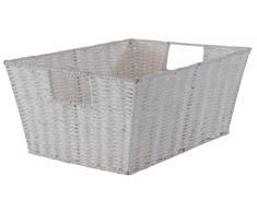 Compactor RAN6544 Aufbewahrungskorb, 31 x 24 x 14 cm, weiß