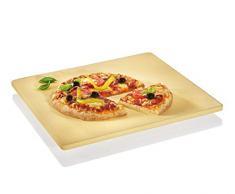 Küchenprofi Pizzastein, 40 x 35 x 3 cm