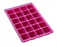 Lurch 86406 Shopping Queen FlexiForm Minikuchen 24fach Silikon, rosa