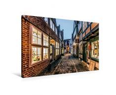 Premium Textil-Leinwand 90 x 60 cm Quer-Format Schnoor   Wandbild, HD-Bild auf Keilrahmen, Fertigbild auf hochwertigem Vlies, Leinwanddruck von Burkhard Körner