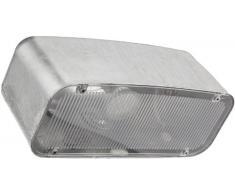 Eglo Außen-Wandleuchte / Modell Avesia / GU10-LED / 1x 2.5 Watt / Leuchtmittel inklusive / Schutzklasse IP23 / 26 cm lang / 12 cm hoch / Stahl feuerverzinkt 30915