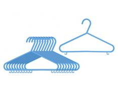 Premier Housewares Kleiderbügel für Kinder, 10 Stück blau