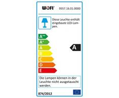 WOFI Deckenleuchte und LED-Deckenlampe 9557.16.01.0000