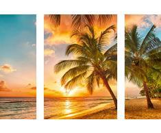 Eurographics 50x70 Wandtattoo, Papier, DP-DC2046 Island of Barbados, 70 x 50 x 0.4 cm