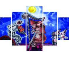 Asir Group LLC ST133 Destiny Dekorativ MDF Wandbild, bunt