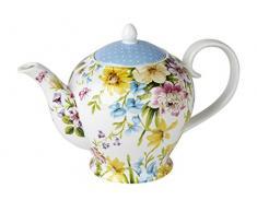 Katie Alice English Garden Porzellan-Teekanne, 6 Tassen, 1300 ml (46 fl oz)