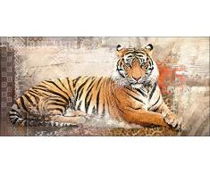 Pro-Art pl008r5 Wandbild Canvas-Art Sumatra Tiger, 115 x 55 cm