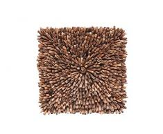 SIT-Möbel 6299-01 Wanddeko Romanteaka, 80 x 5 x 80 cm, recycled Teak natur
