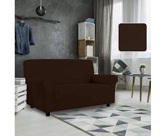 PETTE Sofabezug aus italienischem Stil 4 Posti (220 a 260 cm) braun