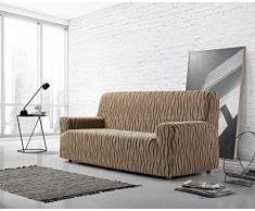 Zebra Textil Sofa, Braun