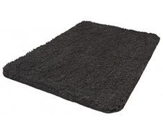 Kleine Wolke Badteppich, Grau, 70 x 120 cm