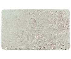 Wenko Badteppich Poly Hochflor Pebble Grey Duschmatte, grau, 120 x 70 x 0.5 cm