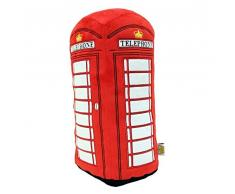 London Red Telephone Box 3D Plüsch Kissen