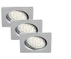 Briloner Leuchten LED Einbaustrahler, Einbauleuchte, Deckenspot, LED Einbauspot, Deckeneinbauleuchte, Deckeneinbaustrahler, Einbaulampe, Einbaustrahler Set, Einbaulampen Decke, Einbauleuchten, schwenkbar