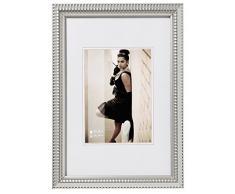 Walther JF015S Bilderrahmen Tiffany Rahmen, 10 x 15 cm, silber