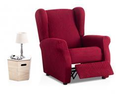 Bartali Stretch Husse für Sessel Relax Aitana - Farbe Granatrot - Standard Maß (Kontaktieren Sie Uns für weitere Informationen)