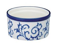 Bia Heritage Souffléförmchen, blau und weiß, Set 4