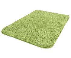 Kleine Wolke Badteppich, Grün, 60 x 90 cm
