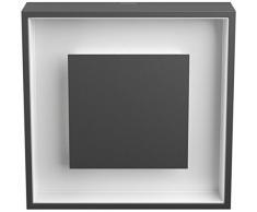 Philips myGarden LED Wandaussenleuchte, Sand Aluminium, 6 W, grau, 172949316