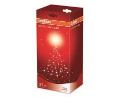 OSRAM LED Lichterkette für Innen- und Außenanwendung mit 120 Brennstellen / 6,5 Watt, Plastik, 2,80m Länge, Kaltweißes Licht