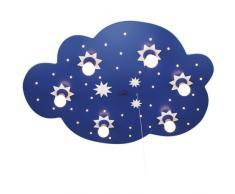 Elobra Deckenleuchte Sternenwolke, dunkelblau 124222