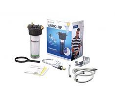Carbonit Wasserfilter VARIO-HP Classic | Untertischgerät mit TÜV-geprüftem Aktivkohlefilter NFP Premium | Anschlussfertiges Trinkwasser-Filtersystem inkl. Wasserhahn | Qualität _ Made in Germany