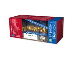 Konstsmide 4610-103 LED Hightech System Erweiterung / Lichterkette / für Außen (IP44) / 100 warm weiße Dioden / transparentes Kabel