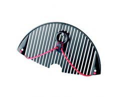 Moha Moderne Haushaltwaren AG 50403 Küchensieb flexibel, biegsam, Anthrazit