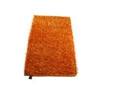 Gözze Teppich, Langflor, Metallic-Optik, 50 x 70 cm, Shaggy, Orange, 1012-36-7