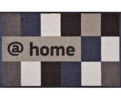 Wash+Dry 030263 Fußmatte @Home, 50 x 75 cm, Brownish