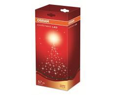 OSRAM LED Lichterkette für Innen- und Außenanwendung mit 320 Brennstellen / 13 Watt, Plastik, 5,80m Länge, Warmweißes Licht