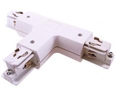 Deko-Light Schienensystem 3-Phasen 230 V, T- Verbinder round left, 220-240 V AC/50-60 Hz 444631