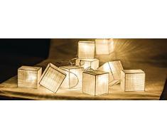 HQ Lichterkette Baumwolle Quadrat 10 LED HQLEDSLSQRCOT