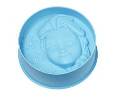 Disney Frozen ELSA Backform, Silikon, blau, 17 X 17 X 5.5 cm