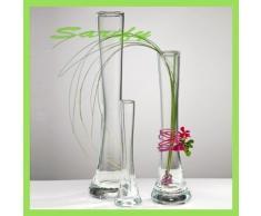 Sandra Rich Vase, Glas, transparent 20 x 10 x 10 cm