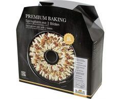 RBV Birkmann 882034 Premium Baking Springform mit zwei Böden 26er