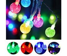 LED Lichterketten, OYE HOYE 16 Farben USB Lichterkette Außen 16ft 50 LED Weihnachten Lichterkette IP65 Wasserdicht Deko Lichterketten mit Fernbedienung Perfekt für Partei Hochzeit Weihnachten Garten