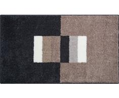 Grund Linea Due Badteppich 100% Polyacryl, Ultra Soft, Rutschfest, CAPRICIO, Badematte 70x120 cm, Taupe