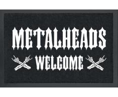 empireposter Metalheads - Fussmatte, Größe: 60 x 40 cm, Material Polypropylen