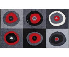 Wash+Dry Fußmatte Sergej Grey 75x120 cm