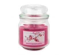pajoma Duftkerze Winterfrüchte Sweet Christmas Edition im Bonbonglas, 248 g, Premium Kerze zum verschließen, für Circa 55 Stunden, Kerze perfekt für Weihnachten