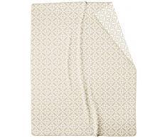 biederlack Überwurf, Baumwoll-Mischgewebe, Naturtöne, 150 x 200 cm
