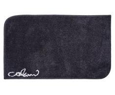 Grund COLANI Exklusiver Designer Badteppich 100% Polyacryl, ultra soft, rutschfest, ÖKO-TEX-zertifiziert, 5 Jahre Garantie, Colani 40, Badematte 70x120 cm, anthrazit