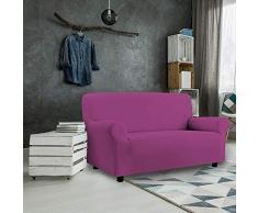 PETTE Sofabezug aus italienischem Stil 3 Posti (170 a 230 cm) Fuchsia