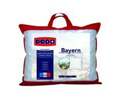 Dodo Bayern Basic Kopfkissen, weiß, 40x80 cm