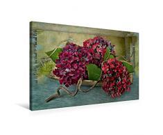 Calvendo Premium Textil-Leinwand 75 cm x 50 cm quer, EIN Motiv aus dem Kalender Floral | Wandbild, Bild auf Keilrahmen, Fertigbild auf echter Leinwand, Leinwanddruck Natur Natur