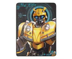 Hasbro Transformers, Be Alert Micro Raschel Throw Blanket, 46 x 60 Überwurf Decke, merhfarbig