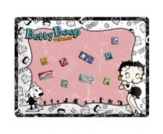 Nostalgic-Art 25009 Betty Boop Vintage Magnettafel, 30 x 40 cm inklusive 9 Magneten