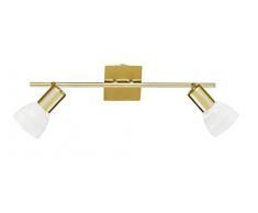 WOFI Spot, metall, E14, Messing-matt