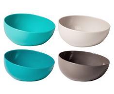 VIGAR Taula Set Snackschale aus Kunststoff, 4 Stück